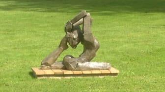 Skulptur av Finja Reparationsbetong