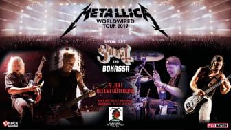 Metallica - Ullevi den 9 juli 2019