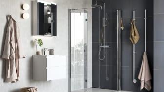Vikbara duschdörrar SYNC 13