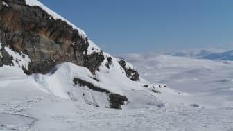 Sørfjordfjellet-Slahpanjarga utsikt mot Akka masivet