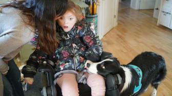 Tyst kommunikation med terapihunden Doris