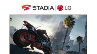 LG:s smart-tv får molngamingtjänsten Stadia under 2021