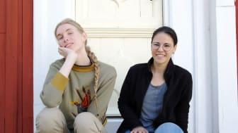 Årets ateljéstipendiater, Xenia Klein och Rosalia Ramirez