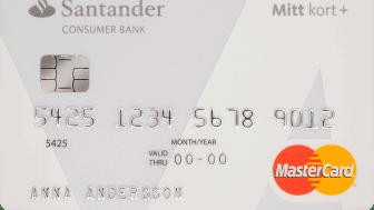 Mitt kort+ från Santander - ett riktigt bra kort för utlandsresan