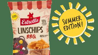 Linschips BBQ är en summer edition på tillfälligt besök från Estrella 2020