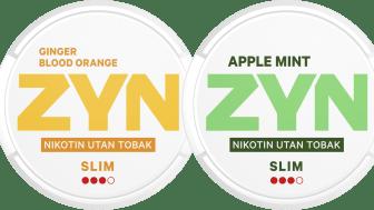 ZYN växer med två smaker - Blodapelsin/ingefära och äpple/mint