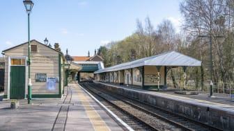 Southern's platform 1 at Eridge station