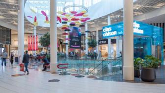 Väla Centrum har nöjdast köpcentrumhyresgäster