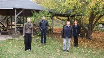 Barbara Kaufmann-Wechsel, Lothar Eberhardt, Heike Hoch und Margit Strehl-Enders (von links).