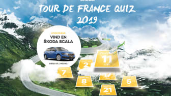 Vind en SCALA i ŠKODAs Tour de France-quiz