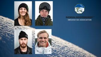 Emma Dahlström, Oliwer Magnusson, Niklas Mattsson och Felix Elofsson.