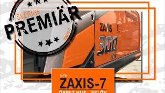 SVERIGE- & SKÅNEPREMIÄR! Nu är Zaxis-7 här.