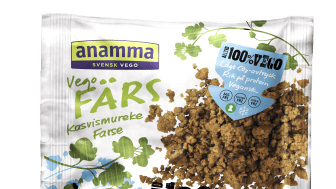 Anamma fjerner egg fra samtlige produkter -  og blir dermed størst i Norge på vegansk kjøtterstatning