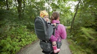 Bergans ute med ny bæremeis - Lilletind Child Carrier