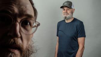 Mange gleder seg over at duoen Erlend Loe og Kim Hiorthøy har gjenopptatt sitt kreative og grenseløse samarbeide. Loe til høyre.