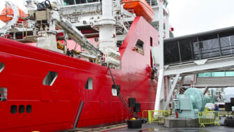 Shore power facility for offshore vessels goes on line