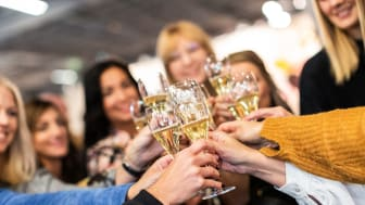 Lyckad premiär för Sveriges första stora bubbelevent