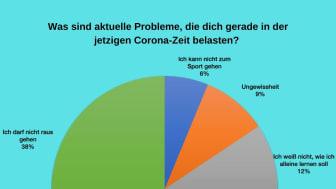 Aktuelle Umfrage: Welche Probleme belasten unsere Jugendlichen in der Corona-Zeit?