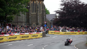 Dunlop achieves its 2016 Isle of Man TT objectives