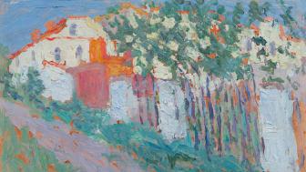 Kasimir Malewitsch: Sommer oder Haus und Garten (1906)