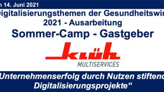 In einer Woche - nutzen Sie die Chance Ausschnitte des Sommer-Camps 2021 im digitalen Live Stream!