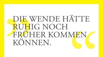 """Postkarte zum Lichtfest in Kooperation mit """"Viertelrausch"""": Georg, Erzieher über die Wende 1989"""