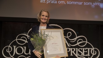 Vinnare av Lukas Bonniers Stora Journalistpris: Bibi Rödöö