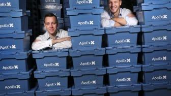 Novax blir delägare i supergasellen ApoEx