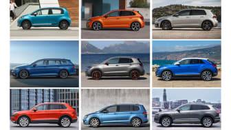 Volkswagen solgte 31.107 biler i 2019 og var for niende år i træk det største bilmærke i Danmark