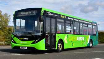 Out with the old and in with the new as Go North East invests £1.8 million in state of the art environmentally friendly buses for its Green Arrow services