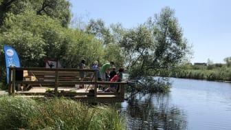 Kristianstads kommun satsar på naturovana under Friluftslivets år