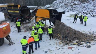 Norditek demonstrerar VS1220 i Finland