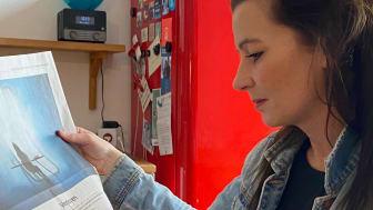 Gründerin und Geschäftsführerin Mara Bertling freut sich über den Fokus des Wirtschaft-Reports der Sueddeutschen Zeitung vom 20.03.2021