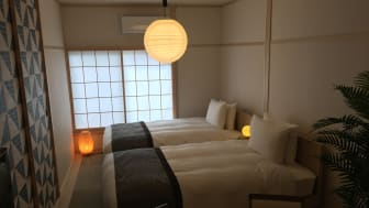 Let's stay at a private Japanese home and experience the downtown life in Japan