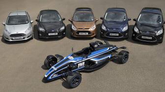 Fords 1.0-liters EcoBoost-motor er kåret til «Årets Internasjonale Motor» for andre år på rad.