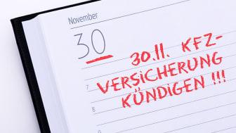 Der Stichtag zur Kündigung der Kfz-Versicherung rückt näher. Foto: Tim Reckmann/pixelio.de