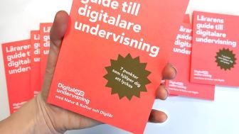 """""""Lärarens guide till digitalare undervisning"""" är skriven av Frida Monsén och delas ut kostnadsfritt till lärare."""