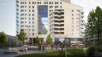 Zengun påbörjar stor bostadsbyggnation i Haga Norra  för BRABO och Fabege