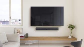 Благодаря поддержке 4К, решениям по беспроводной передаче контента и поддержке приложений для интернет-стриминга вам обеспечено высокое качество домашних развлечений