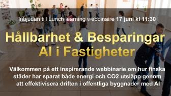 Hållbarhet & Besparingar i AI fastigheter