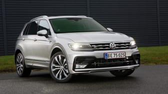 Tiguan er den mest solgte SUV i Europa og har rundet 6 producerede enheder