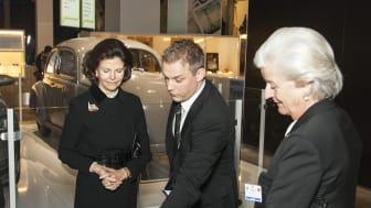Turkiskt statsbesök bland innovationer på Tekniska museet