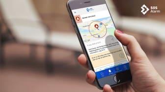 112-appen får nya funktioner för synskadade