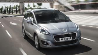 Sverigepremiär för nya generationen Peugeot 5008