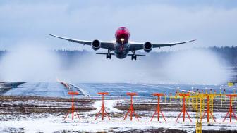 El tráfico de pasajeros de Norwegian crece un 13 por ciento en enero