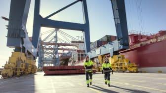 Små och stora dagliga förbättringar på APM Terminals i Göteborg har resulterat i en markant ökning av kundnöjdheten.