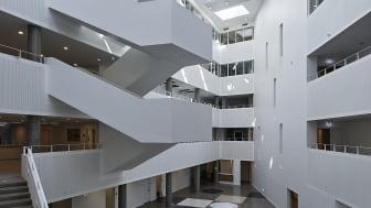 Center for Sundhed, Atrium i sollys