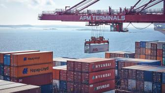 De stora hamnarna med hög kapacitet prioriteras före de mindre hamnarna, en trend som har accelererat under pandemin.