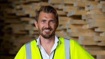 Marknaden för flervåningshus i trä är glödhet i dag, berättar Johan Åhlén, VD på Moelven Töreboda.