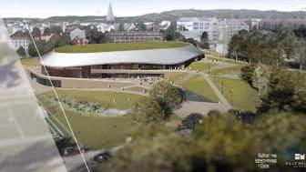 Illustrasjon: Hille Melbye Arkitekter/Kultur- og idrettsbygg Oslo KF